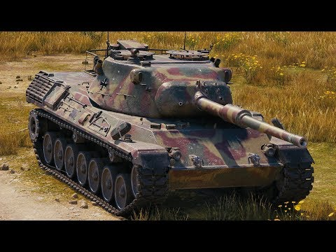 World of Tanks Leopard 1 - 7 Kills 9,8K Damage thumbnail