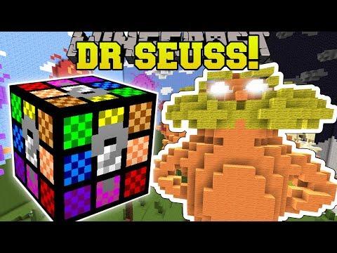 Minecraft: DR. SEUSS THE LORAX HUNGER GAMES - Lucky Block Mod - Modded Mini-Game