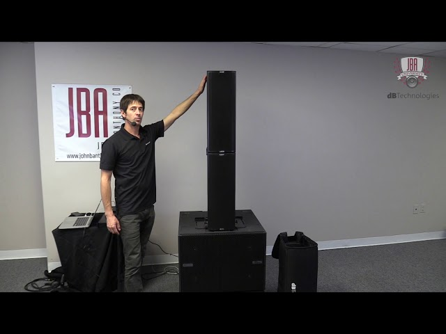 dB Technologies Ingenia IG2T with VIO S118R - How to Build a System