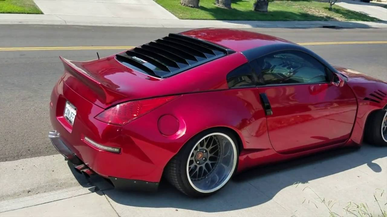 How to install 350z rear window louvers rocketbunny 350z for 2000 mustang rear window louvers