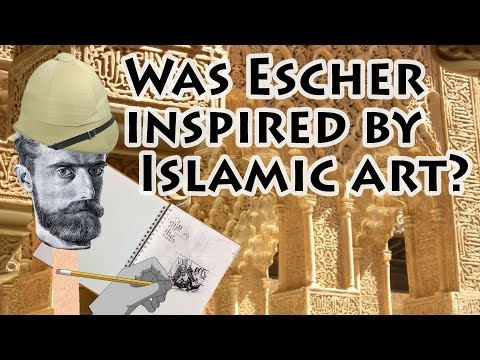 MC Escher Inspired by Islamic Art?