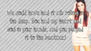 Ariana Grande- Rolling in the Deep Remix ((LYRICS))♡ Amazing Quality! + How To Download