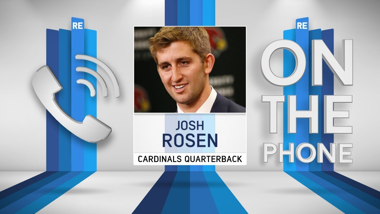 Josh Rosen on Being Welcomed into the Cardinals Family | The Rich Eisen Show | 5/2/18