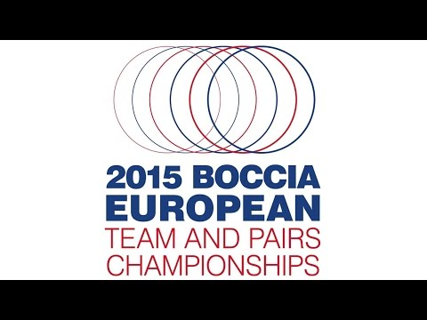 Boccia European Teams and Pairs Championships 2015 Day 2