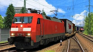 "Let's Play Train Simulator 2018 | BR 152 | Konstanz - Villingen | JTG ""Sprung nach Donaueschingen"""