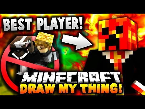 THE BEST DRAW MY THING PLAYER ALIVE! - Minecraft