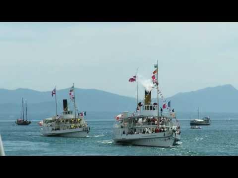 Parade CGN du 22 06 2016 à bord du Simplon