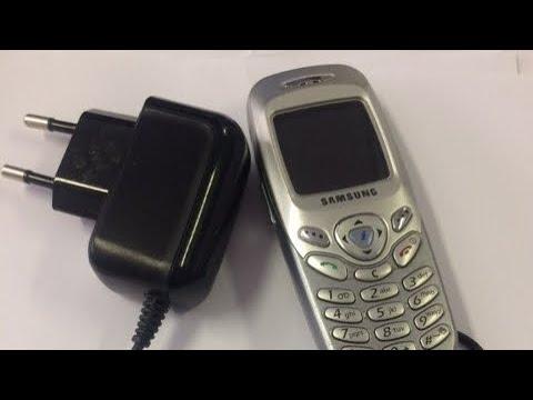 Распаковка телефона Samsung SGH-C200 из OLX