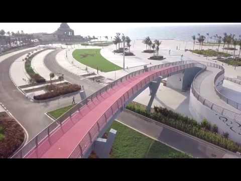 أروع تغطية لواجهة جدة البحرية Jeddah WaterFront