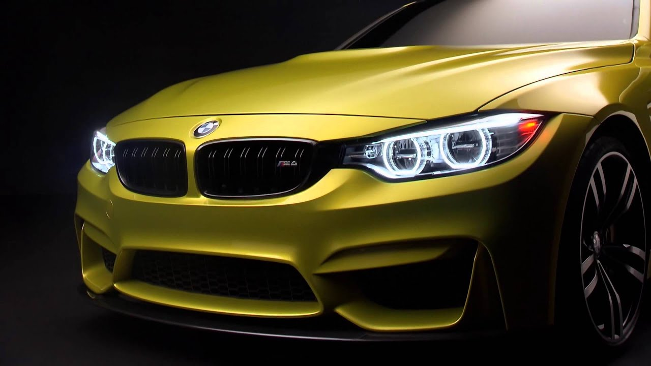 Bmw M4 Coupe Concept High Definition Walk Around Youtube