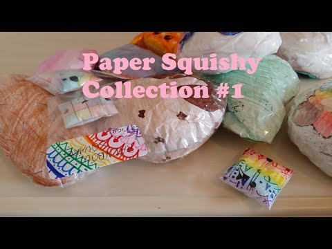 My Paper Squishy Collection #1