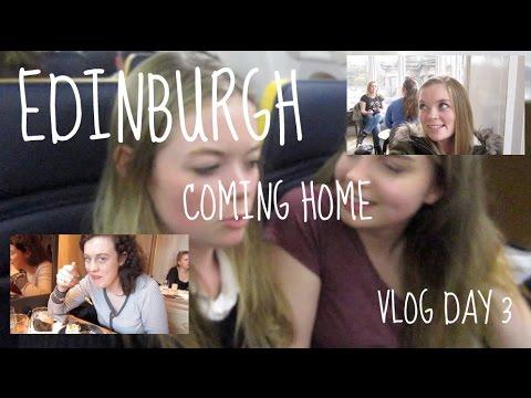 Final Day! Castles & Heading Home || Edinburgh Day 3