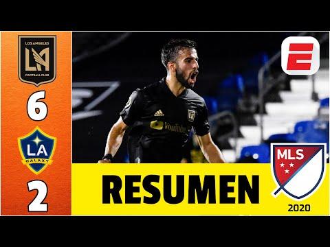 LAFC vs LA Galaxy RESUMEN MLS   La noche de Diego Rossi con 4 GOLES, LAFC GOLEA 6-2 en El tráfico