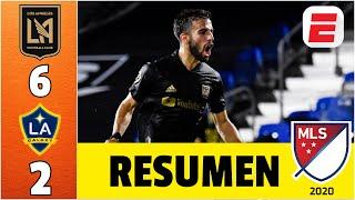 LAFC vs LA Galaxy RESUMEN MLS | La noche de Diego Rossi con 4 GOLES, LAFC GOLEA 6-2 en El Tráfico