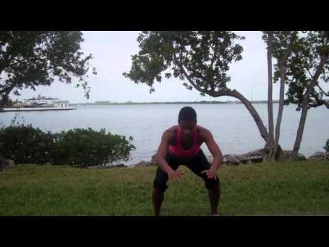 Thunder Thighs - Leg Workout - Black Girl Slim