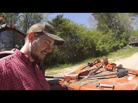Rhino TS12 Stealth Bush Hog Walk Around Review and Brush Grapple