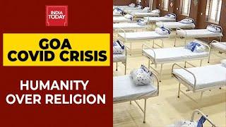 Goa Church Establishes Covid Care Centre, Gurudwaras Offer Free Langar Outside Hospital