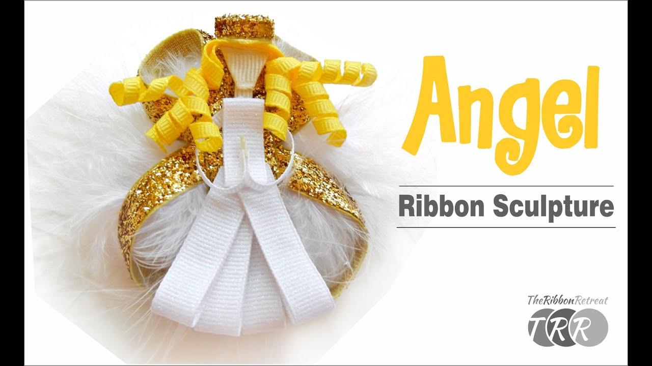 Holiday Ribbon Sculpture Hairclip Character Princess