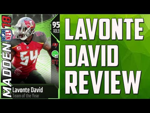 How Good is 95 Overall Lavonte David? MUT 18 Card Review