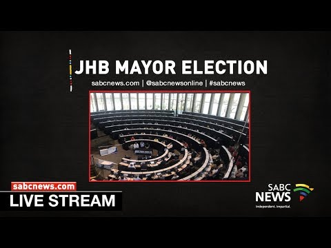 Election Of New Johannesburg Mayor