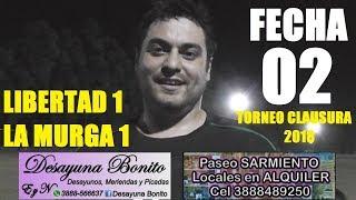 Futbol de Profesionales. Libertad 1 La Murga 1. San Pedro de Jujuy