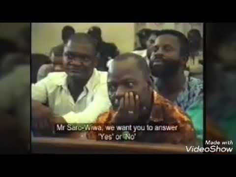 The final Trial of ken saro Wiwa