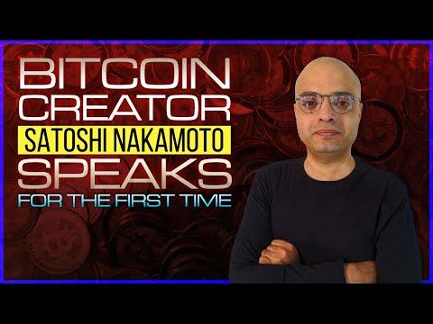 Satoshi Nakamoto The Creator Of Bitcoin