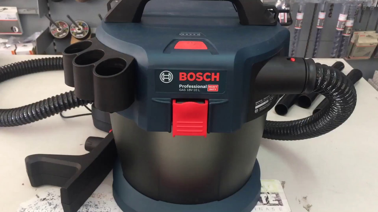 Turbo Bosch GAS 18V-10 L NEW VACUUM CLEANER - YouTube CD21