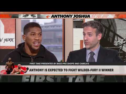 "Anthony Joshua tells ESPN First Take: ""I'm willing to fight Wilder on April 13"""