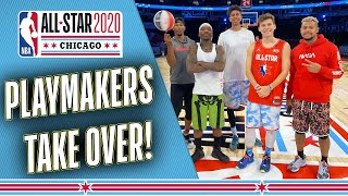 2Hype, T Jass & More vs NBA All-Star Weekend | NBA Playmakers BTS