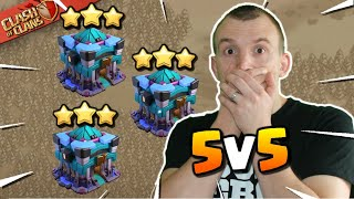 GREATEST COMEBACK in the HISTORY of Clash of Clans! 5v5 War - Golden X vs EWU eSports!