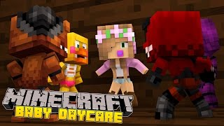 Minecraft -Baby Day Care-FIVE NIGHTS ATTACK THE SCHOOL!!
