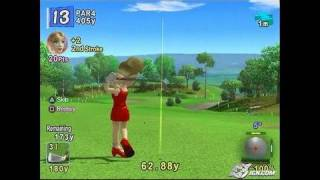 Hot Shots Golf Fore! PlayStation 2 Gameplay - Nice putt!