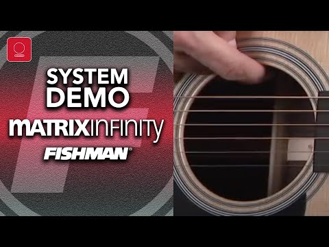 Fishman Matrix Infinity Undersaddle Acoustic Pickup Demo