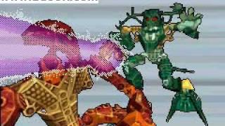 Lego Bionicle Heroes Intro / Theme (GBA)