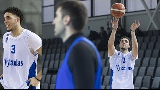 LaMelo Ball And Liangelo Ball Pro Debut in Lithuania LIVE STREAM :: Prienu Vytautas Vs. BC Zalgiris