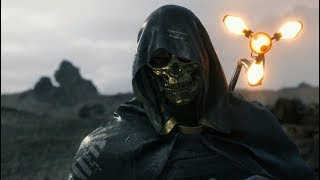 Death Stranding by Hideo Kojima -- New Trailer and New Character Played by Troy Baker (PS4)