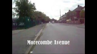 A Ride Along Morecambe Avenue & Birchwood Road - Scunthorpe