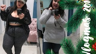 INSIDE THE DRESSING ROOM at LOVESICK | PLUS SIZE FASHION | vlogmas 2016