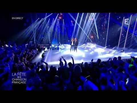 """Calogero et Carla Bruni - """"Seras-tu là ?"""" - Fête de la Chanson Française 2014"""