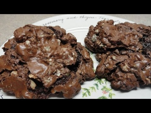 Delicious Gluten Free and Dairy Free chocolate cookies - YouTube