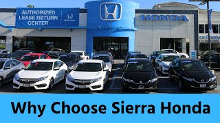 Sierra Honda - Your Premier Honda Dealer in Monrovia, CA
