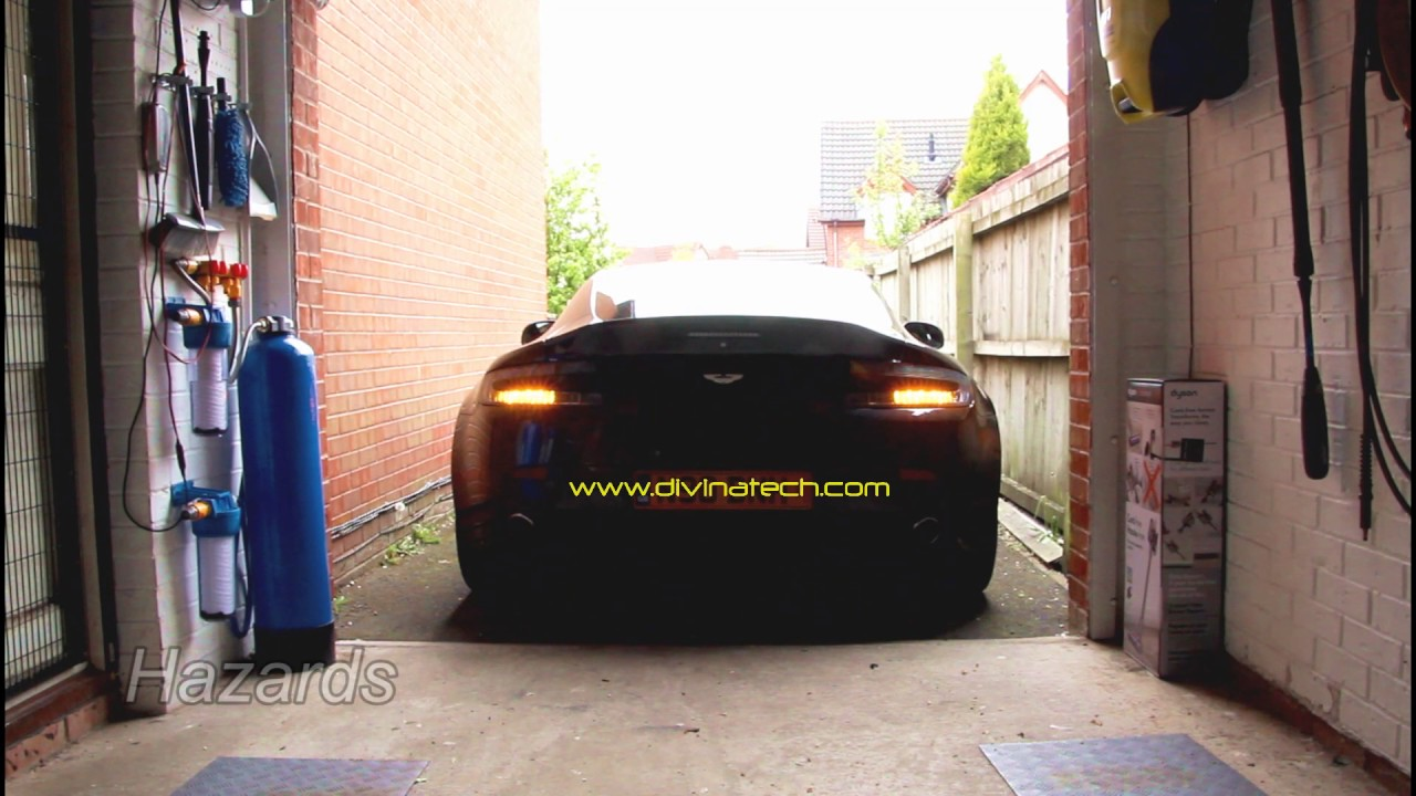 Custom Tail Lights For Aston Martin 3 Youtube