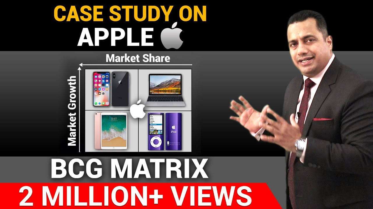 Case Study On Apple | BCG Matrix | Dr Vivek Bindra
