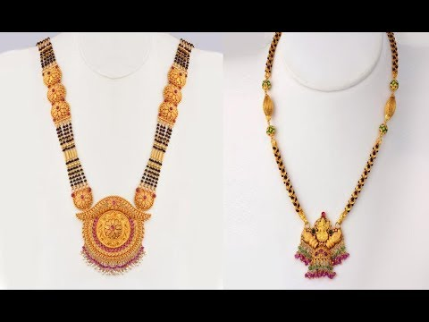 Latest Mangalsutra Designs Collection With Weight Youtube