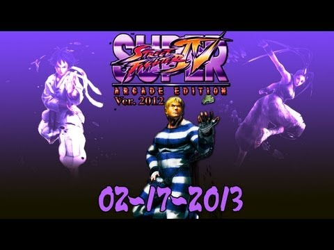 SSFIV AE 2012 Online: [02-17-2013] Replays ( feat. bless-95310, Prophecie, Messatsu-BE )