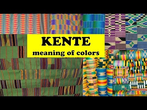 Meaning of Kente Cloth Colors