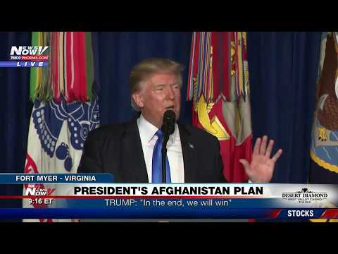 FNN: President Trump Outlines Afghanistan War Strategy - FULL SPEECH