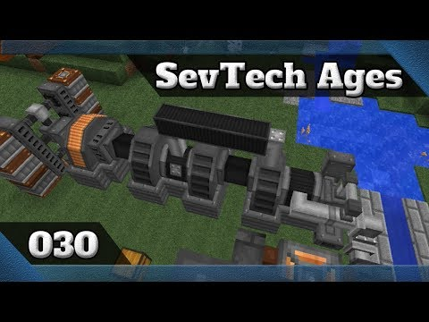 Minecraft 1.12.2 SevTech Ages Ep30 - Press do AE + Steam Turbine + Cozinha [PT/BR]