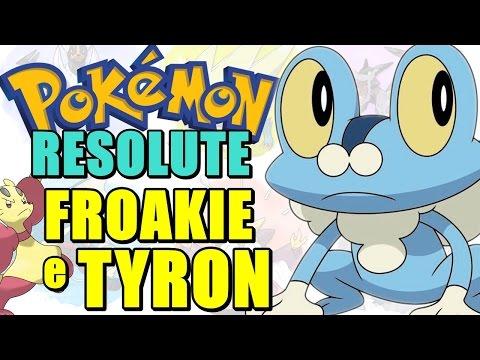 Pokémon Resolute (Detonado - Parte 35) - Froakie, Mienfoo e A Região de Tyron